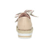 Dámske béžové poltopánky s prírodnou podrážkou bata-red-label, béžová, 621-8650 - 15