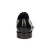Pánske čierne kožené Oxford poltopánky bata, čierna, 824-6878 - 15