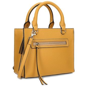 Žltá dámska kabelka bata-red-label, žltá, 961-8956 - 13