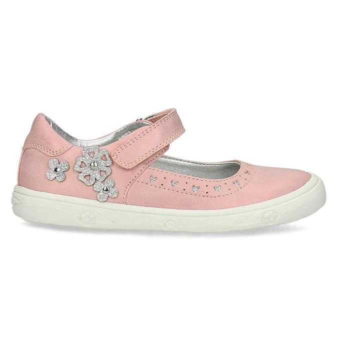 Dievčenské ružové baleríny mini-b, ružová, 221-5216 - 19