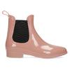 Béžové Chelsea členkové gumáky bata, ružová, 592-5610 - 19