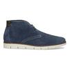 Tmavomodrá pánska kožená Desert Boots obuv flexible, modrá, 823-9636 - 19