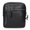 Čierna pánska Crossbody taška bata, čierna, 961-6966 - 26