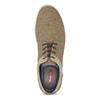 Béžové pánske tenisky s rovnou podrážkou bata-red-label, hnedá, 841-3609 - 17