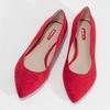 Červené dámske baleríny bata-red-label, červená, 529-5644 - 16
