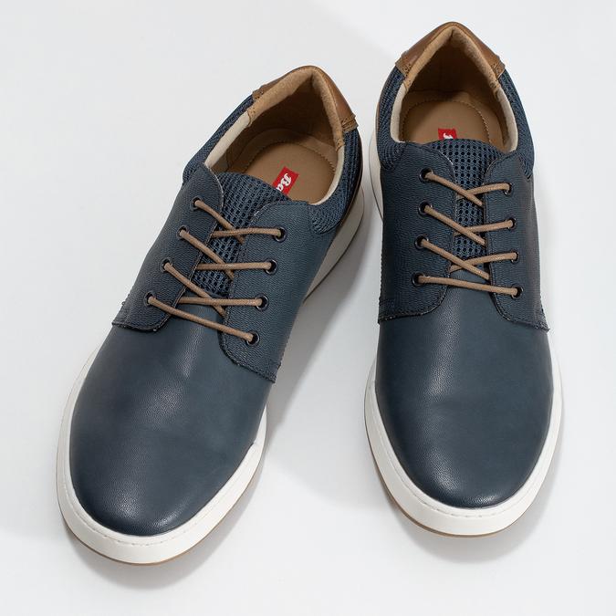 Tmavomodré ležérne tenisky bata-red-label, modrá, 841-9606 - 16