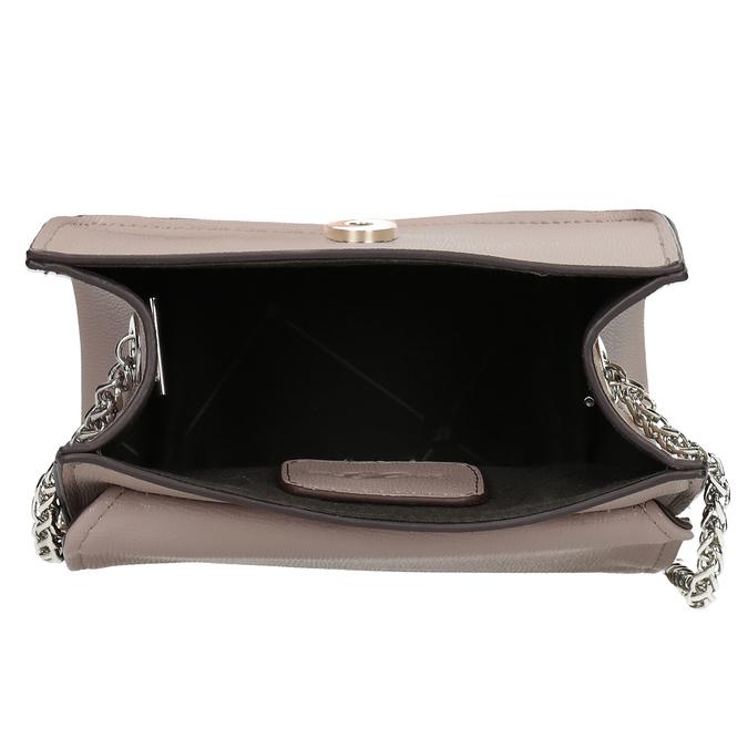 Béžová Crossbody kabelka s ozdobnou sponou bata, béžová, 961-5955 - 15
