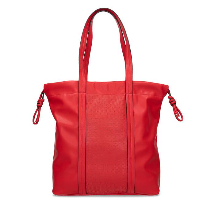 Červená kabelka v štýle Shopper Bag bata, červená, 961-5933 - 26