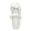 Biele detské baleríny s mašľou a kamienkami mini-b, biela, 221-1105 - 17