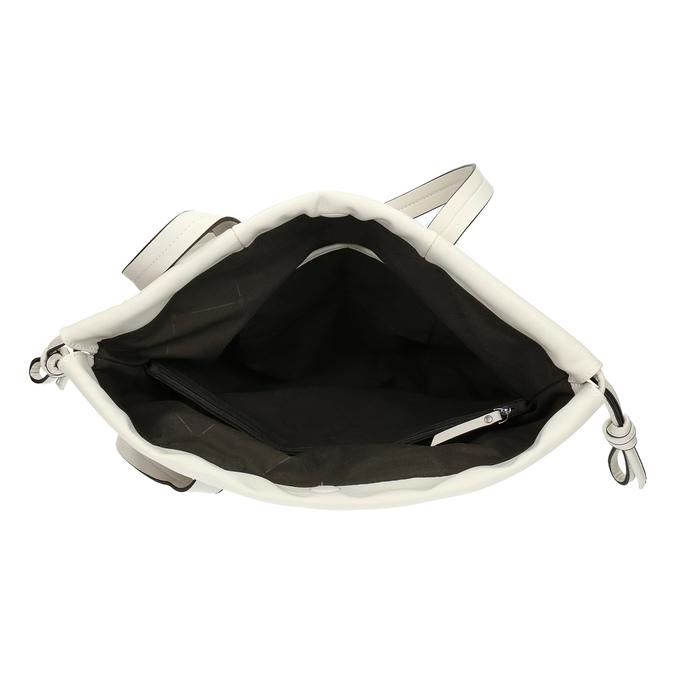 Béžová dámská kabelka s jemnou perforáciou bata, béžová, 961-8933 - 15