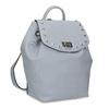 Modrý dámsky batoh s kovovými cvočkami bata, modrá, 961-9940 - 13