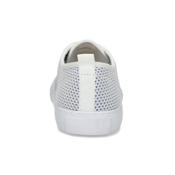 Bielo-modré priedušné tenisky bata-red-label, biela, 849-1601 - 15