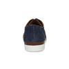 Tmavomodré kožené ležérne poltopánky flexible, modrá, 823-9630 - 15