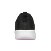 Dámske čierne tenisky s bielou podrážkou adidas, čierna, 509-6102 - 15
