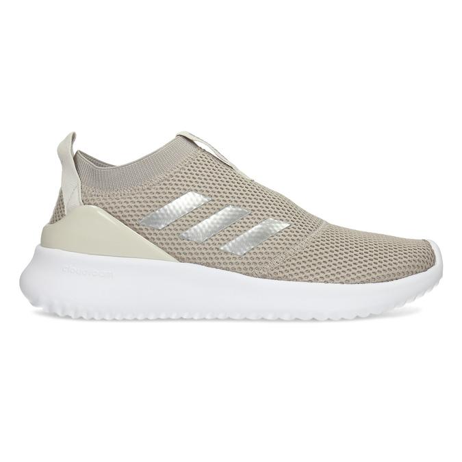 Dámske béžové tenisky s bielou podrážkou adidas, béžová, 509-3129 - 19