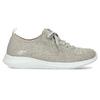 Dámske tenisky v pletenom štýle skechers, šedá, 509-3105 - 19
