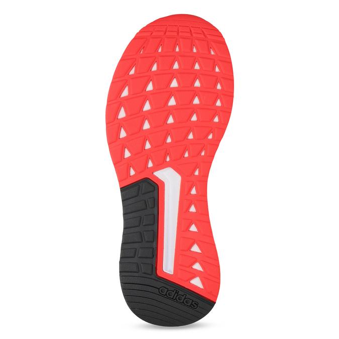 Čierne dámske tenisky s červenými detailami adidas, čierna, 509-2129 - 18
