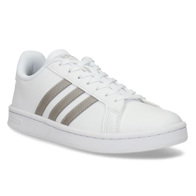 Biele dámske ležérne tenisky adidas, biela, 501-1249 - 13