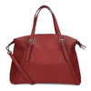 Červená dámska kabelka s perforáciou bata, červená, 961-5888 - 16