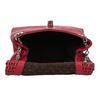 Červená Crossbody kabelka s perforáciou bata, červená, 961-5941 - 15