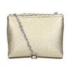 Zlatá dámska Crossbody kabelka s perforáciou bata, zlatá, 961-8941 - 16