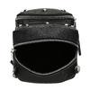 Čierna Crossbody kabelka s retiazkou a s cvočkami bata, čierna, 961-6965 - 15