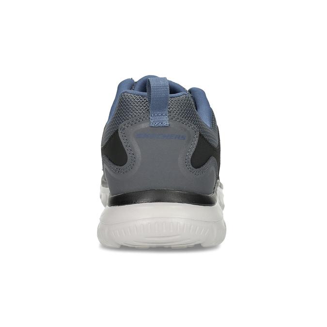 Sivé tenisky pánske skechers, šedá, 809-2234 - 15
