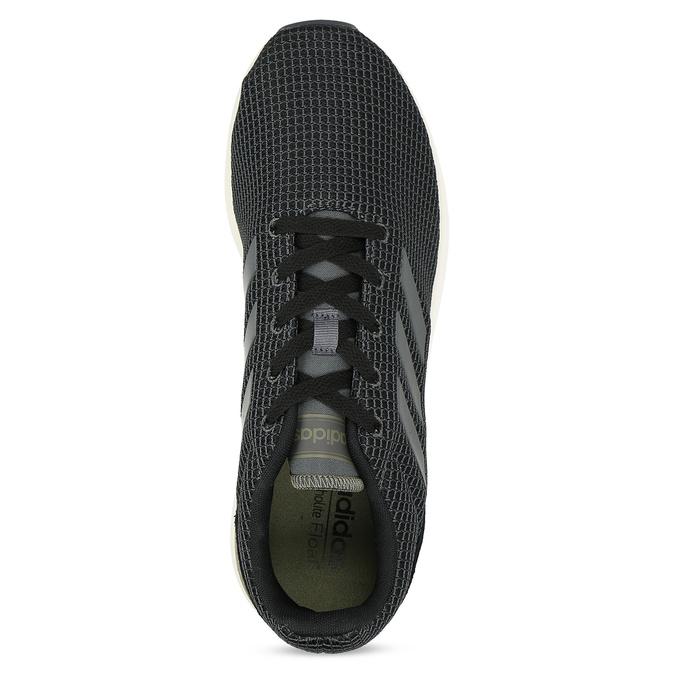 Pánske čierne tenisky všportovom štýle adidas, čierna, 809-6209 - 17