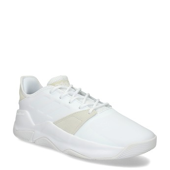 Pánske biele tenisky s výraznou podrážkou adidas, biela, 801-1223 - 13