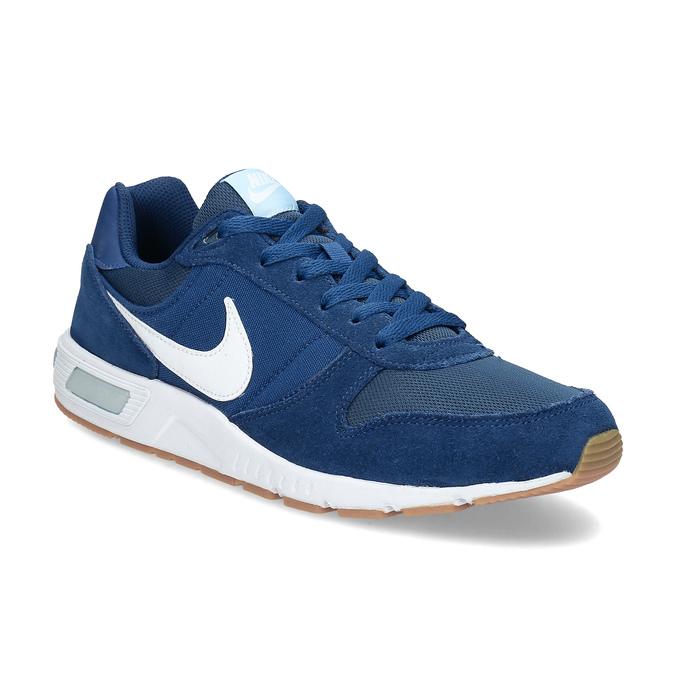 Modré pánske tenisky nike, modrá, 809-9326 - 13