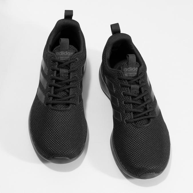 Čierne pánske tenisky v športovom štýle adidas, čierna, 809-6127 - 16