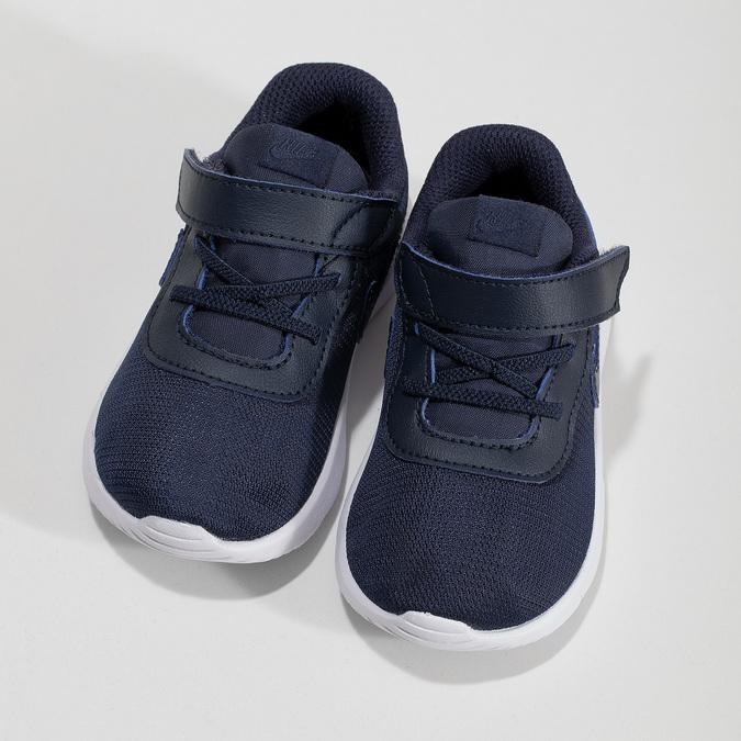 Tmavomodré detské tenisky nike, modrá, 109-9265 - 16
