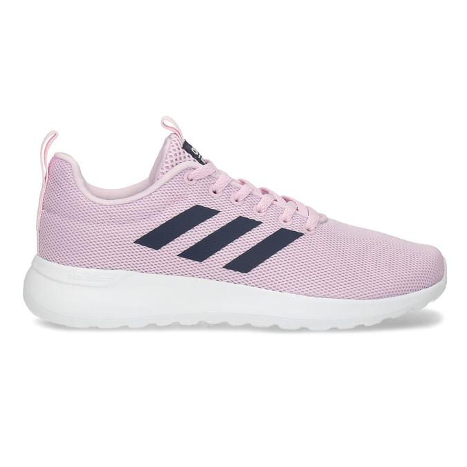Ružové dámske tenisky s bielou podrážkou adidas, ružová, 509-5102 - 19