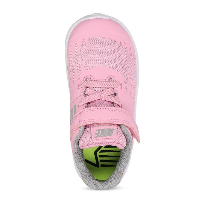 Svetloružové športové detské tenisky nike, ružová, 109-5259 - 17