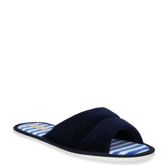 Dámska domáca obuv bata, modrá, 579-9612 - 13