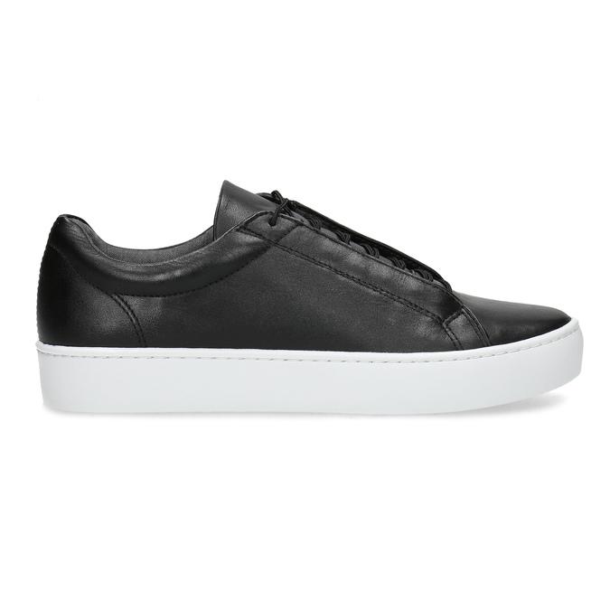 Čierne kožené tenisky vagabond, čierna, 624-6014 - 19