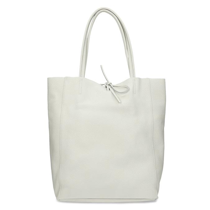 Béžová kožená kabelka bata, béžová, 964-1162 - 16
