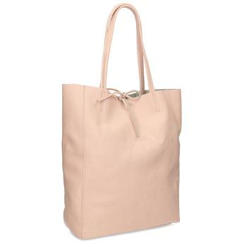 Ružová kožená kabelka bata, ružová, 964-5162 - 13