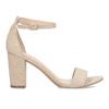 Béžové dámske sandále na stabilnom podpätku bata-red-label, béžová, 769-8641 - 19