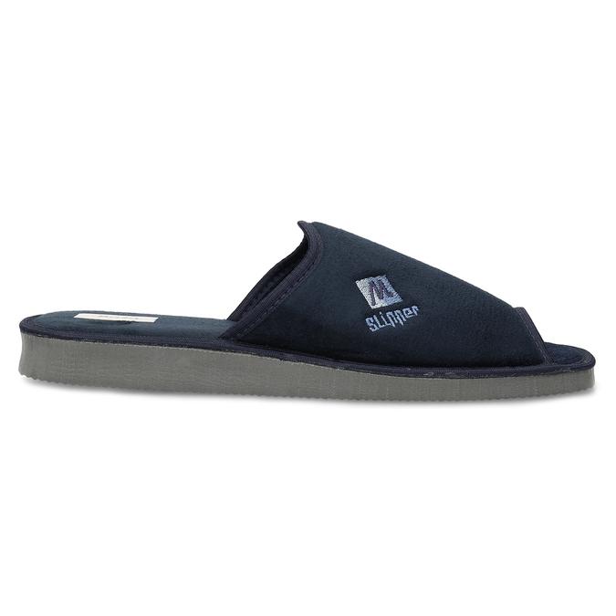 Pánska domáca obuv bata, modrá, 879-9606 - 19