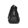 Dámske čierne členkové tenisky z úpletu power, čierna, 509-6237 - 15