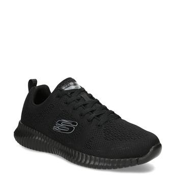 Pánske čierne tenisky v športovom štýle skechers, čierna, 809-6219 - 13