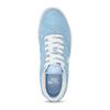 Svetlomodré kožené tenisky nike, modrá, 503-9102 - 17