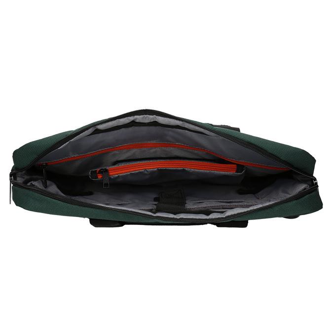 Zelená cestovná taška s popruhom samsonite, zelená, 960-7068 - 15
