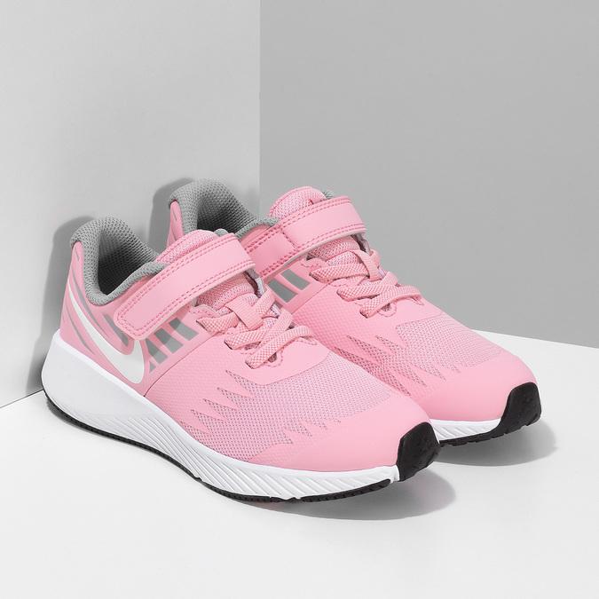 Dievčenské svetloružové tenisky nike, ružová, 309-5211 - 26