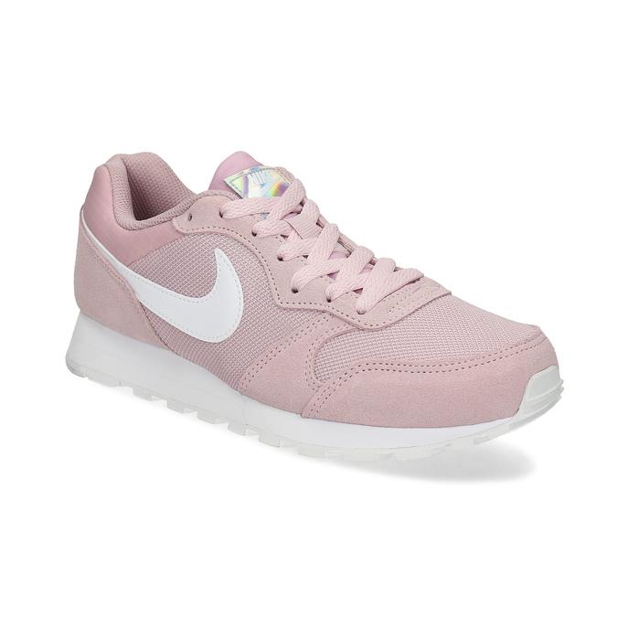 Ružové dámske tenisky v mestskom štýle nike, ružová, 509-5105 - 13