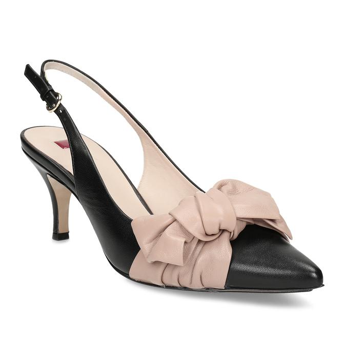 7677d92c85 Hogl Dámske čierne lodičky s mašľou - Všetky topánky