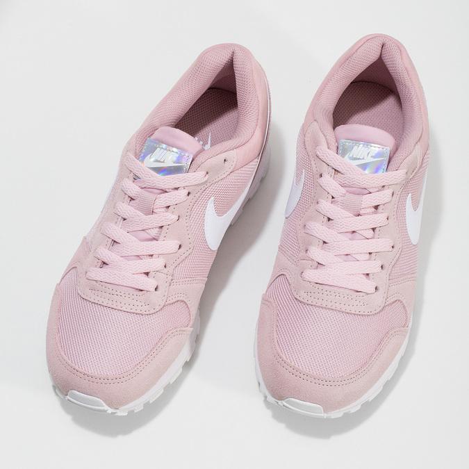 Ružové dámske tenisky v mestskom štýle nike, ružová, 509-5105 - 16