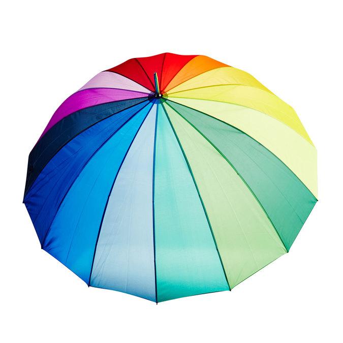 Farebný rodinný dáždnik doppler, viacfarebné, 909-0186 - 26