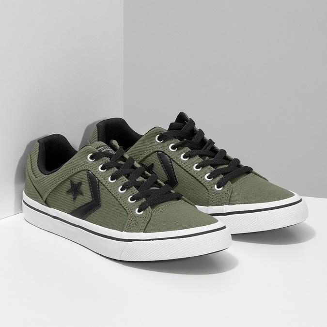 Pánske khaki tenisky converse, zelená, 889-7259 - 26
